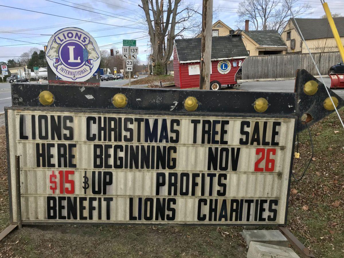 Lion's Club Christmas Tree Sale To Begin November 15th